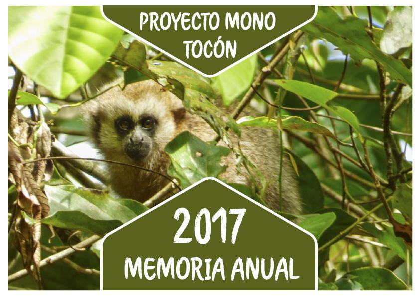 Proyecto Mono Tocón - ONG de conservación en San Martín Perú